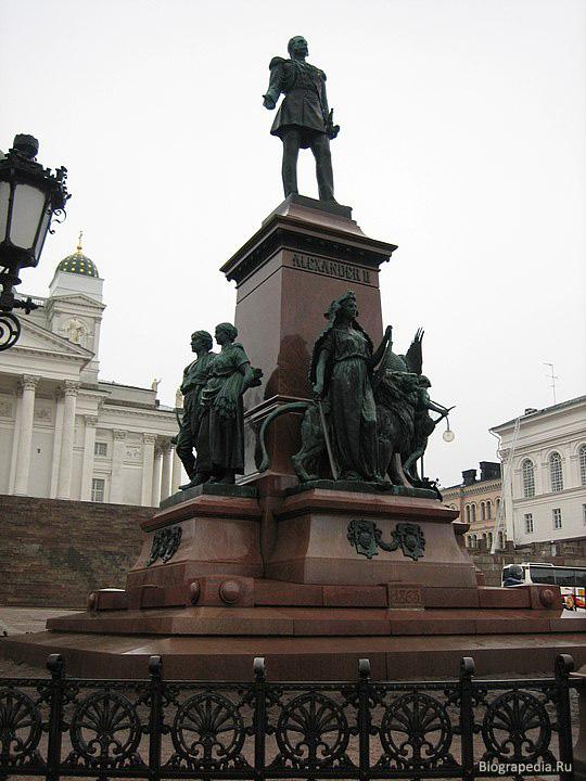 Александр II Освободитель - памятник в Хельсинки