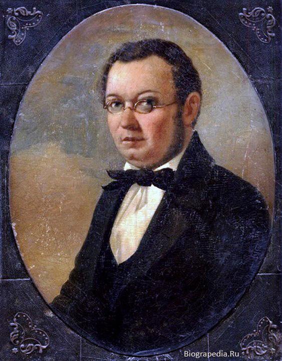 Ершов, Пётр Павлович (прижизненный портрет, художник - Николай Маджи, конец 50-х годов XIX века)