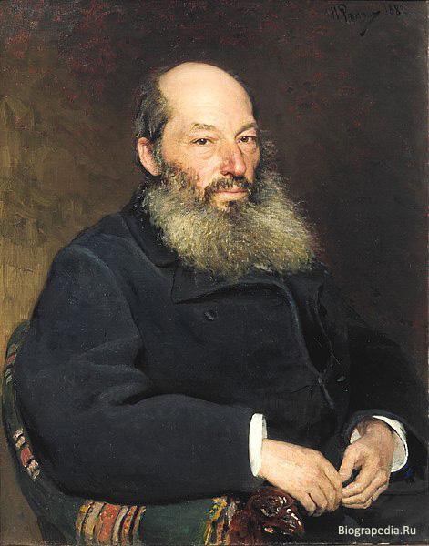 Афанасий Фет. Портрет Ильи Репина