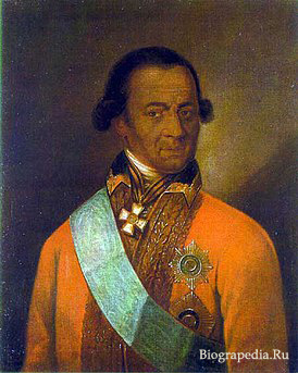Ганнибал, Абрам (Ибрагим) Петрович