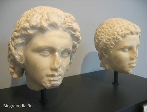 Александр и Гефестион
