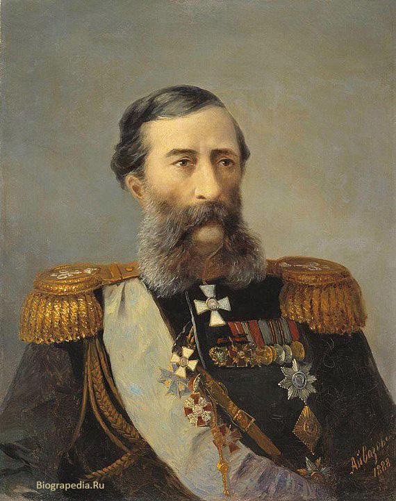 Михаил Тариэлович Лорис-Меликов (1888, художник - И. Айвазовский)