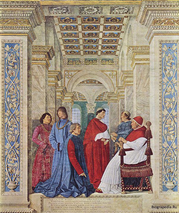 Платина (Platina), Бартоломео де Сакки (Sacchi)