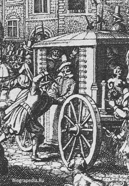 Убийство Генриха IV Равальяком, Death-of-Henry IV на rue de la Ferronnerie