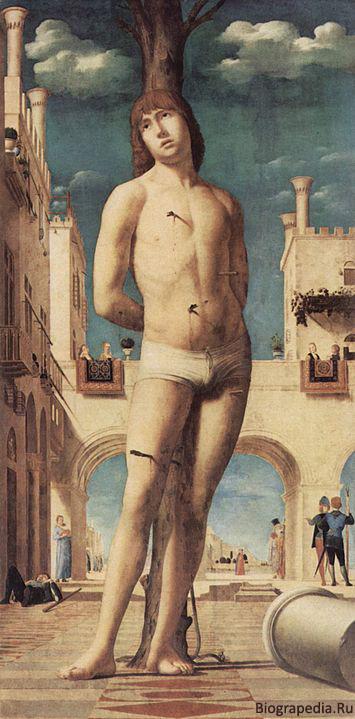 Себастьян Святой (художник - Антонелло да Мессина)