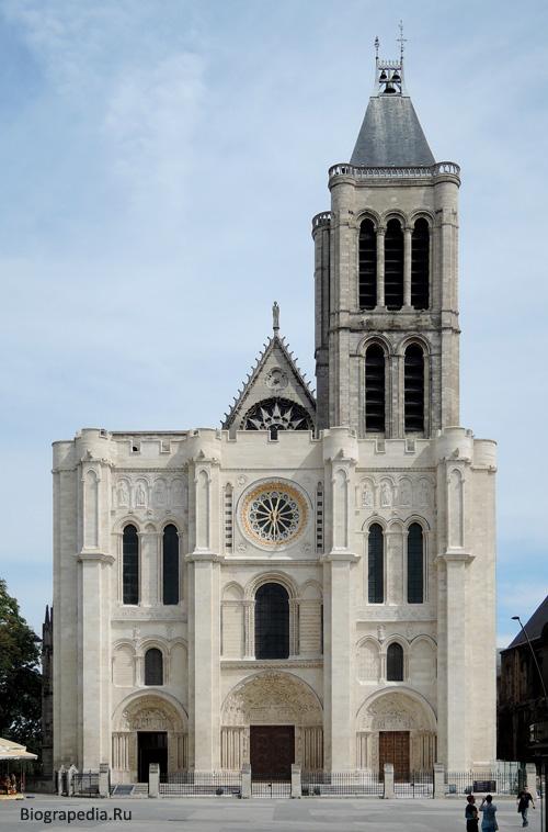 Базилика Сен-Дени (Saint-Denis), фасад