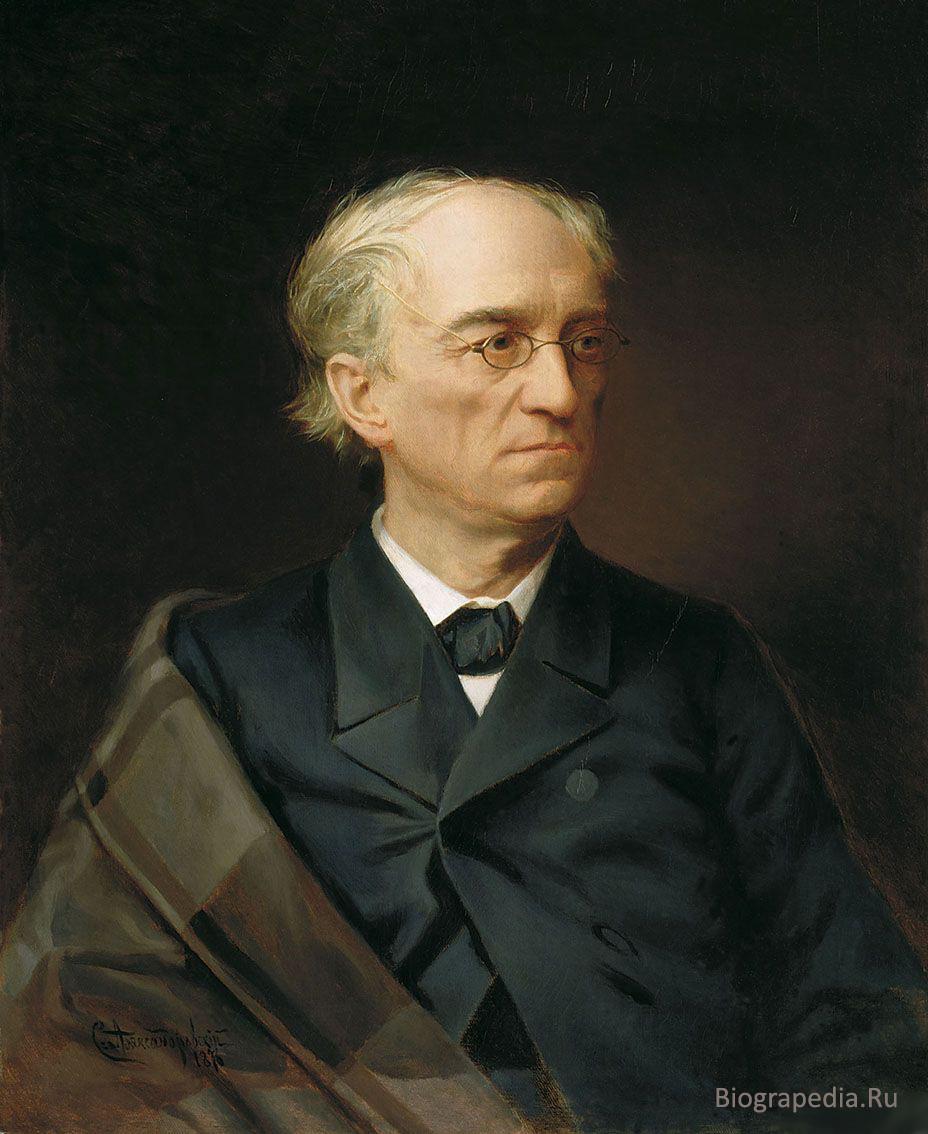 Фёдор Тютчев. Портрет работы С. Александровского (1876)