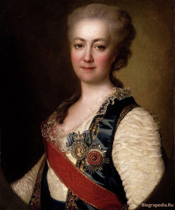 Воронцова-Дашкова (Dachkoff), Екатерина Романовна. Художник - Дмитрий Левицкий (1784).